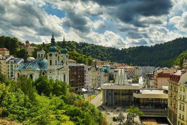 Mesto Karlovy Vary.