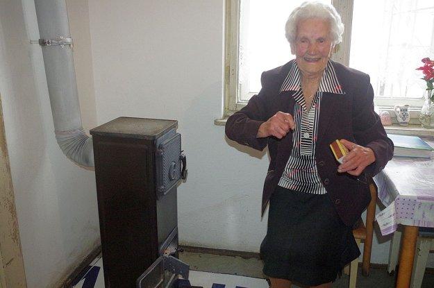 Voliť sa chystá aj storočná babička Magdaléna Poláčková.