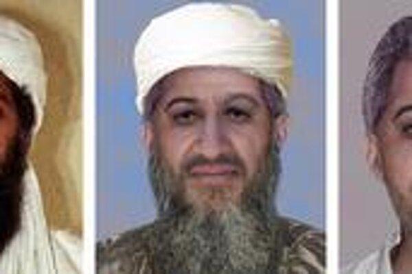 Posledná potvrdená podoba bin Ládina a jeho predpokladaný súčasný výzor podľa FBI.