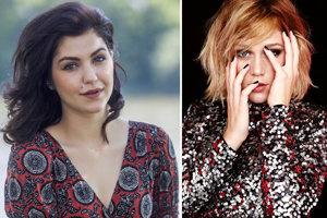 Celeste Buckingham (naľavo) vydala album Bare, Emma Drobná (vpravo) zas debut You Should Know.