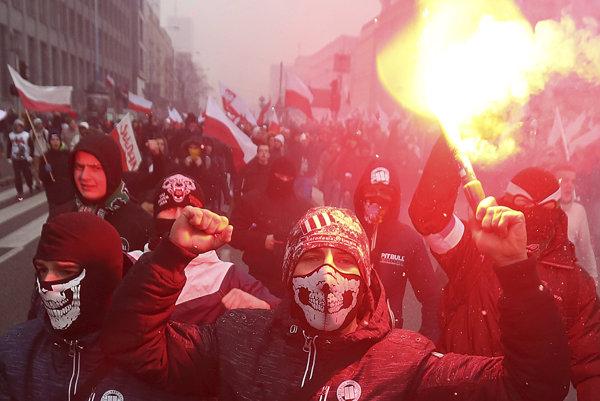 Poľskí ale aj ďalší európski extrémisti sa vo Varšave chystajú na najväčší pochod v Európe.