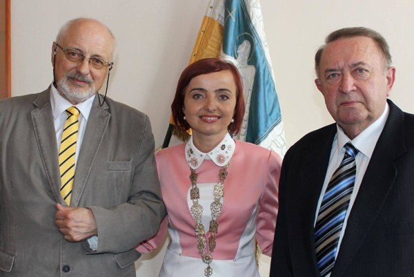 Miloš Souček, Katarína Macháčková a Ivan Vaňo.