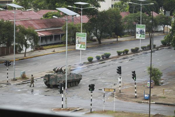 Armáda v Zimbabwe snahu o prevrat poprela.