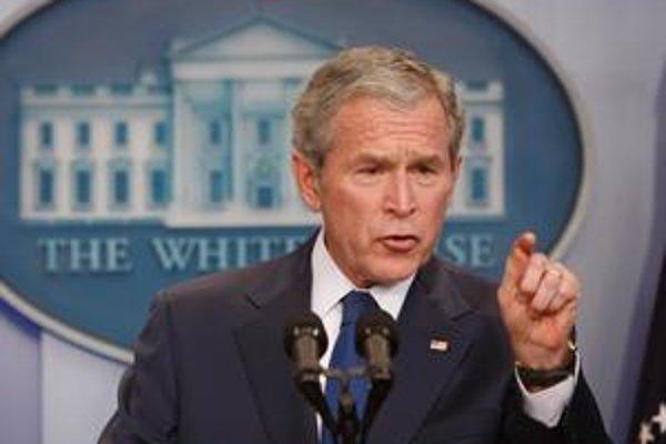 Americký prezident George Bush sa rozlúčil s novinármi.