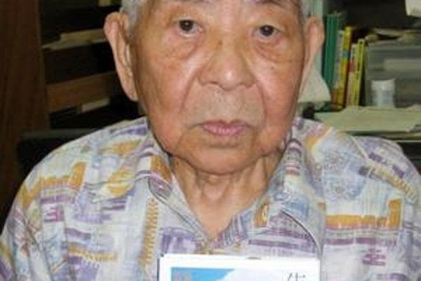 Cumotu Yamaguči akoby zázrakom prežil atómové útoky na Hirošimu aj Nagasaki.