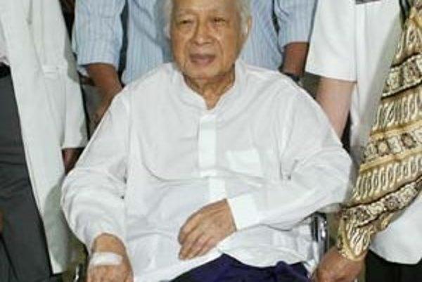Bezvládny Suharto