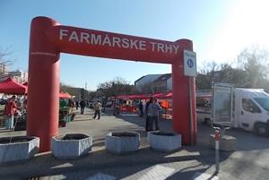 Farmárske trhy pripravili aj v Senci.