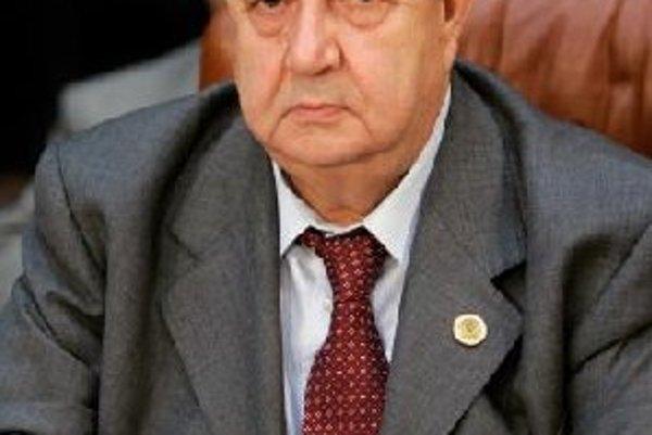 Sýrsky minister zahraničných vecí Walid al-Moallem.