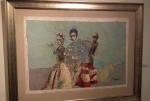 Výstava v MG Art galérii.