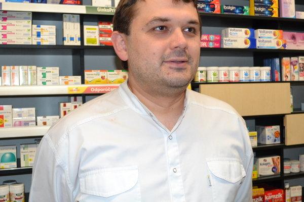 Ondrej Sukeľ, prezident Slovenskej lekárnickej komory.