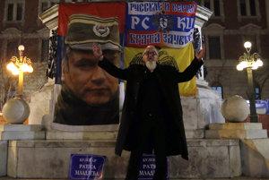 Mladič má dodnes medzi Srbmi mnoho podporovateľov.