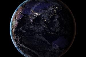 Ide o prvé zábery nočnej Zeme od roku 2012, kedy vydala NASA mapu naposledy.