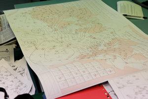 Kedysi sa predpovedalo počasie na papieri a bez moderných softvérov.