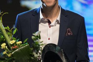 Ocenený Martin Fekiač počas galavečera