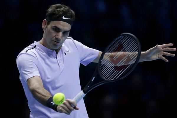 Roger Federer tento rok vynechal antukovú časť sezóny.