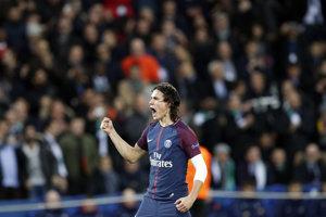 Jeden z gólov PSG strelil Edinson Cavani.