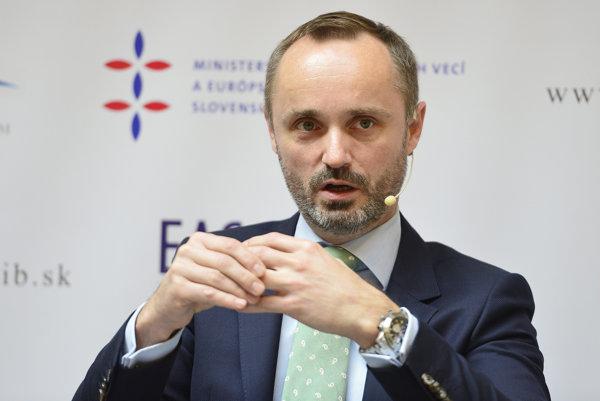 Riaditeľ inštitútu Carnegie Europe Tomáš Valášek.