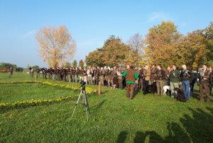 Na podujatí bolo viac ako 100 sokoliarov.