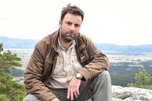 Archeológ Milan Horňák.
