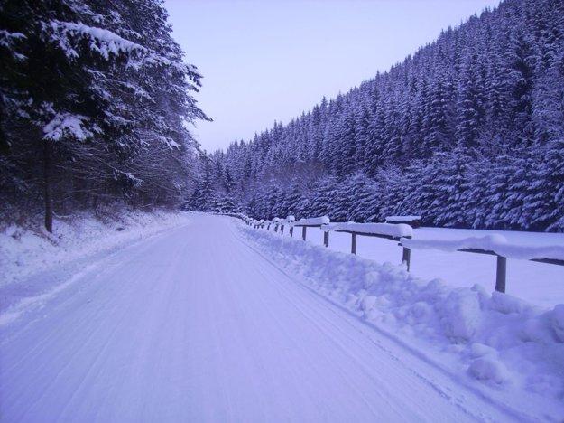 Jasenská dolina - cesta od Belej.