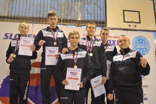 Michalovčania získali vLučenci plejádu medailí.
