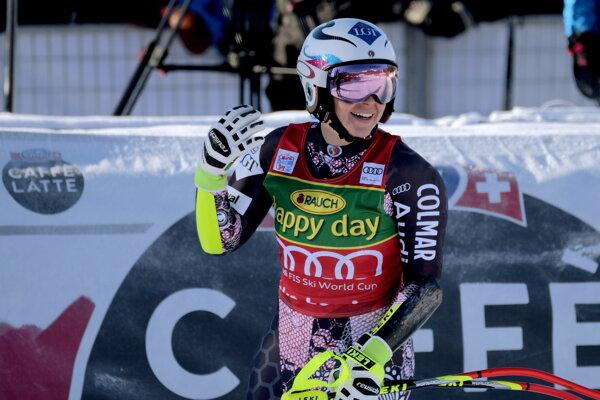 Tina Weiratherová z Lichtenštajnska triumfovala v Lake Louise.