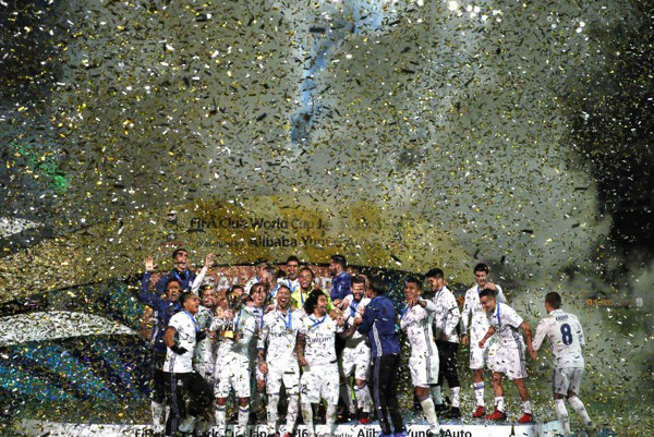 Real Madrid je obhajcom trofeje MS klubov.