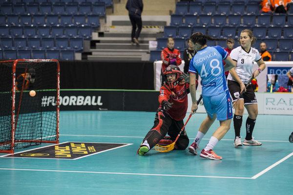 Slovenky čaká vo štvrťfinále Fínsko.
