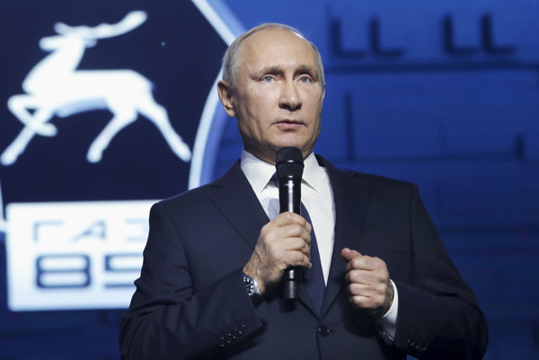 Putin to povedal pri prejave pred robotníkmi automobilky v Nižnom Novgorode.