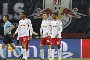 Fanúšik Lipska skolaboval počas zápasu.