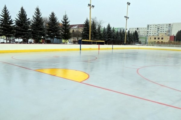 Zimný štadión v Stropkove.