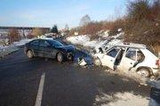 Nehoda sa stala na Lieskovskej ceste vo Zvolene.