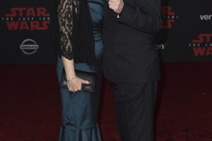 Marilou Hamill, vľavo, a Mark Hamill.