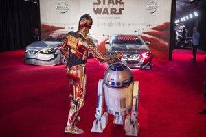 Premiéra Star Wars: Poslední Jediovia v Los Angeles.