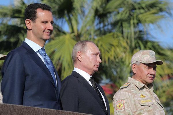 Putin pricestoval do Sýrie.