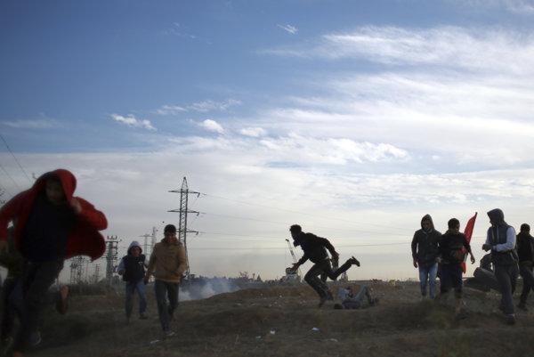 Nepokoje v Pásme Gazy.