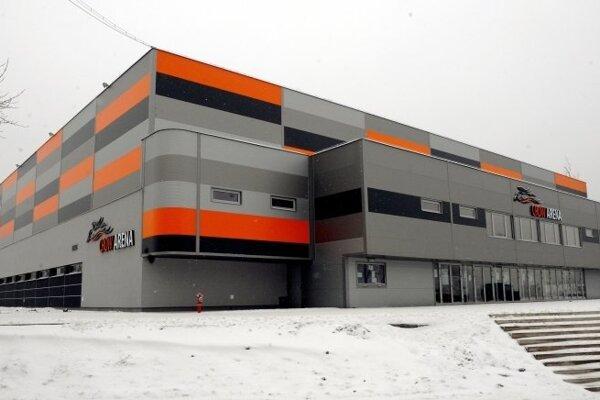 Crow arena v Košiciach.