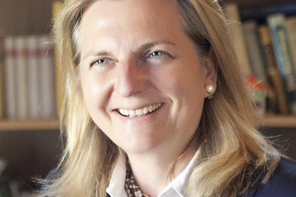 Nová rakúska ministerka zahraničia Karin Kneisslová.