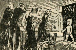 Vítanie roku 1931.