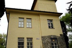 Historický areál pitného zdroja pre Bratislavu na ostrove Sihoť.