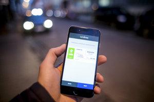 Nákup e-známky cez mobil.