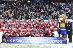 Hráči Kanady trumfovali na Spengler Cupe.