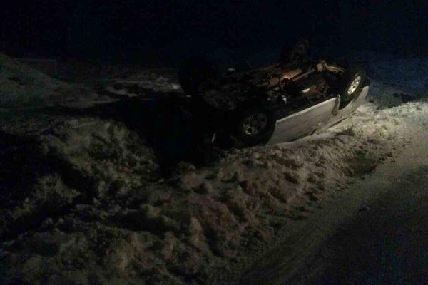 Jedna z nehôd, pri ktorej zasahovali na Silvestra hasiči.