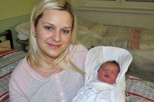 Eva Buliaková s Laurou, ktorá je prvým dieťaťom narodeným v tomto roku na Orave.