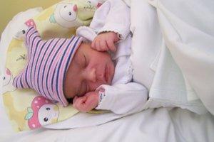 Mária Berkiová je prvým dieťatkom roku 2018 narodeným v martinskej nemocnici.