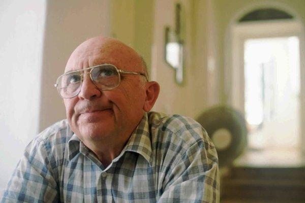 Aharon Appelfeld mal 83 rokov.