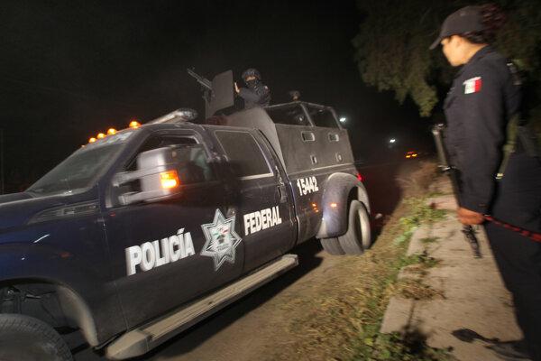 Mexická polícia. Ilustračné foto