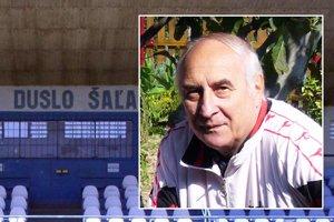 Jozef Szikora strávil veľkú časť života na futbalovom štadióne v Šali.