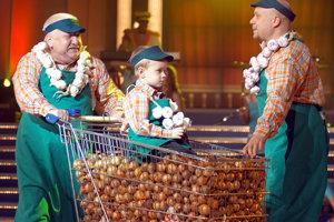Marián Labuda, jeho syn Majo Labuda a vnuk Rišo Labuda účinkujú 8. decembra v šouprograme Hodina deťom.
