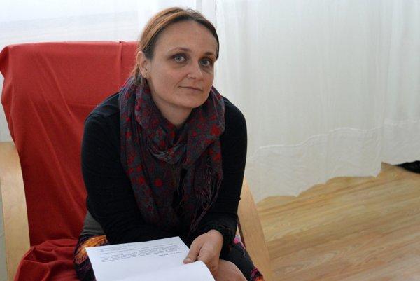 """Gabriela Bačová: """"Dostala som síce možnosť brániť sa, ale moje argumenty sa neberú do úvahy a neprikladá sa im žiaden význam."""""""